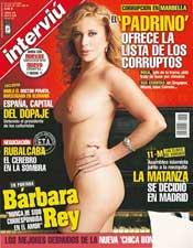 Uno de los posados de Bárbara Rey para Interviú.
