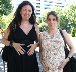 Lidia y Silvia, profesoras interinas