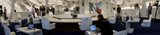La reunión del G-8 en L'Aquila arranca tras un polémico caos en la organización  (Imagen: Tony Gentile / REUTERS)