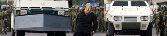 Protestas en Xinjiang