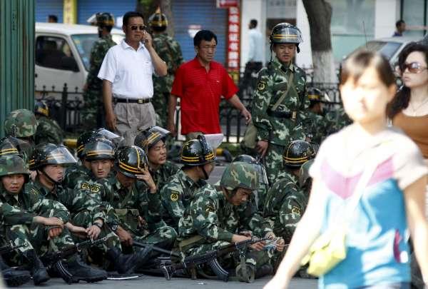 Disturbios étnicos en China