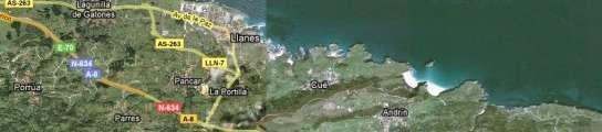El acceso a Llanes estará cortado hasta el 31 de agosto