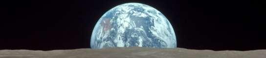 Vista de la Tierra desde la Luna.