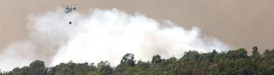 Fuego en Tarifa