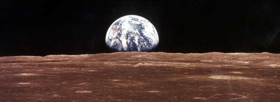 Tierra vista desde la Luna