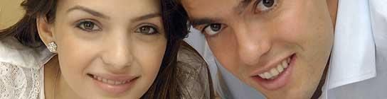 Caroline Celico y Kaká