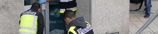 Realizan una explosión controlada de un artefacto colocado en un cajero de Vigo  (Imagen: Salvador Sas  / EFE)