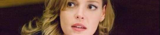 La actriz Katherine Heigl, que interpreta a la doctora Izzie Stevens.