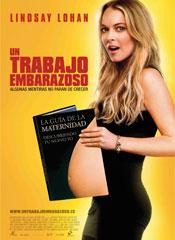 Un trabajo embarazoso - Cartel