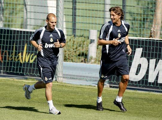 Heinze y Sneijder
