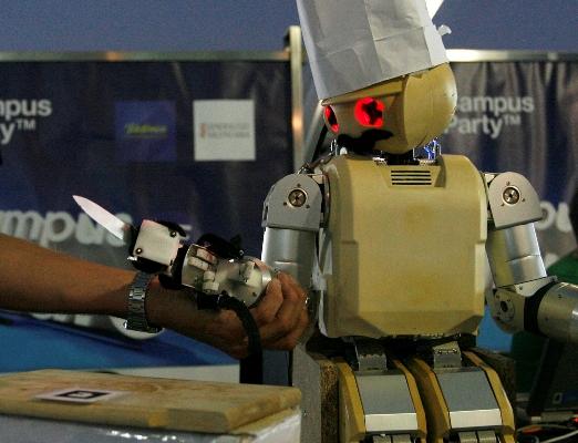 Un robot que aprende el mejor pinche de cocina de la campus party - Robot de cocina mejor valorado ...