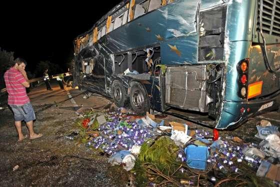 Accidente bus Barcelona