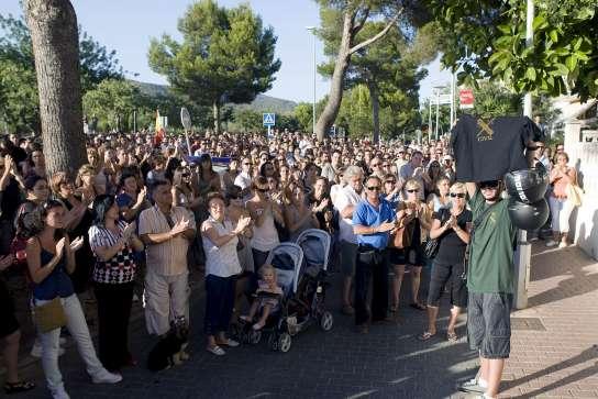 Concentración contra ETA en Mallorca