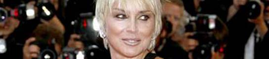 La actriz Sharon Stone.