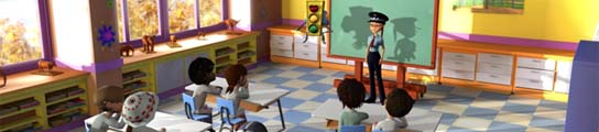 Una serie en 3D enseñará a los más pequeños las normas de circulación  (Imagen: Antena 3)