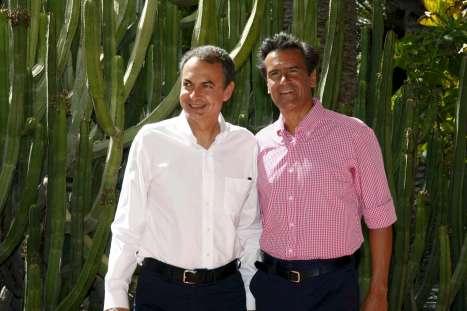 Zapatero y López Aguilar