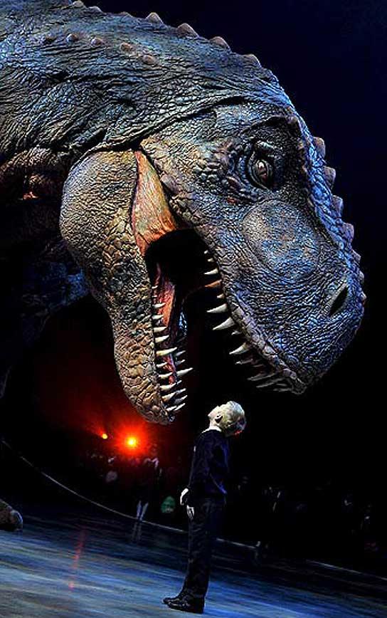 Un Tiranosaurio Rex