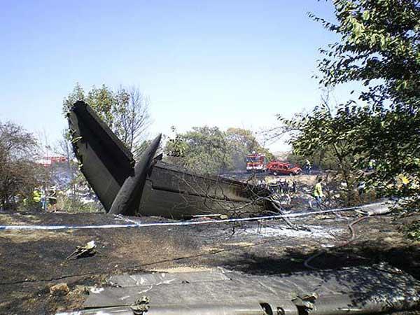 Accidente aéreo Spanair
