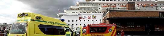 Incendio en crucero de Pullmantur