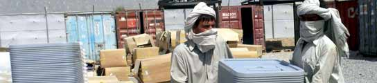 Elecciones en Afganistán.