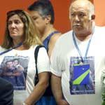 Familiares de las víctimas de Barajas 150