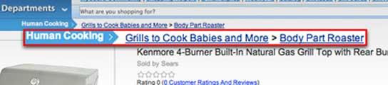 Un 'hacker' cuelga el anuncio de un horno para cocinar bebés en la web de Sears  (Imagen: TMZ)