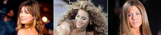 Jessica Biel, Beyoncé y Jennifer Aniston