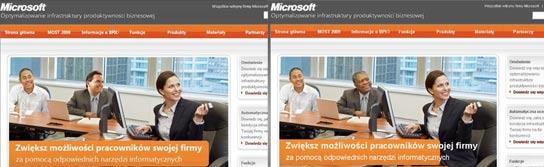 Campaña de Microsoft en Polonia