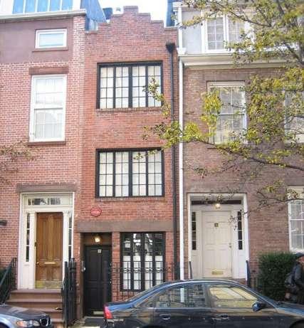 En venta la casa m s estrecha de nueva york por 1 93 for Casa a new york affitto
