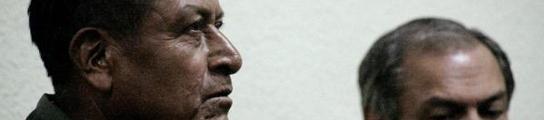 Un ex militar, primer condenado a prisión en Guatemala por las desapariciones  (Imagen: Carlos M. Duarte / EFE)