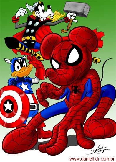 Disney y Marvel
