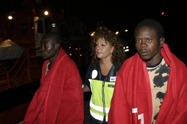 Inmigrantes subsaharianos