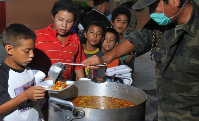 Refugiados por el huracán 'Jimena'