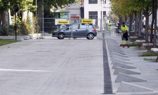 Acera Recoletos en Valladolid