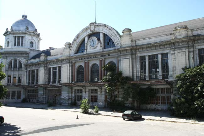 Estación del Norte, en Madrid