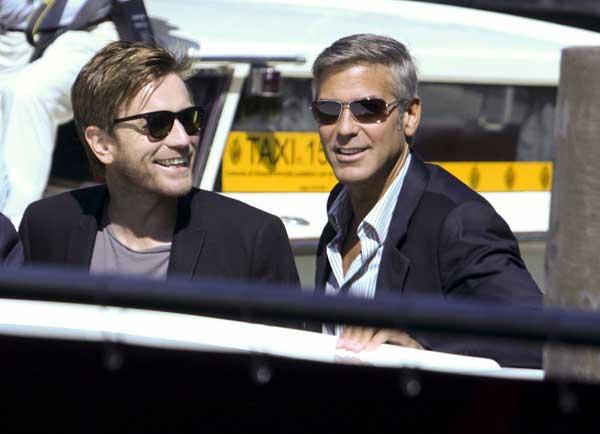 Ewan McGregor y George Clooney