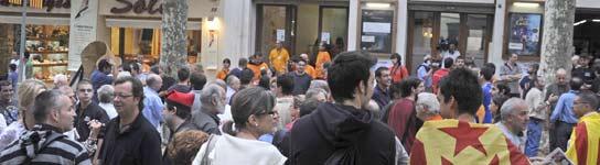 Barcelona celebrará una consulta sobre la indenpedencia de Catalunya en abril  (Imagen: EFE)