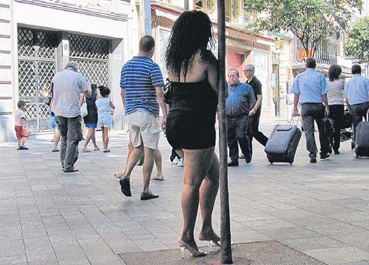 Calle De Putas De Madrid