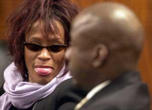 <p>Whitney Houston - 300</p>