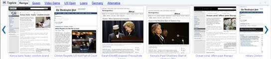 Google experimenta con una herramienta que permite 'hojear' las webs de noticias  (Imagen: GOOGLE)