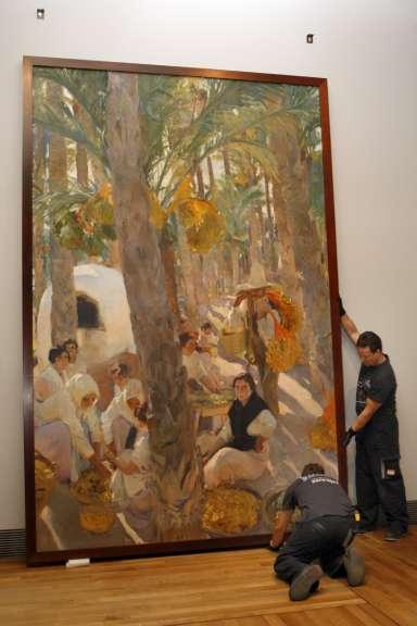 Exposición dedicada a Joaquín Sorolla