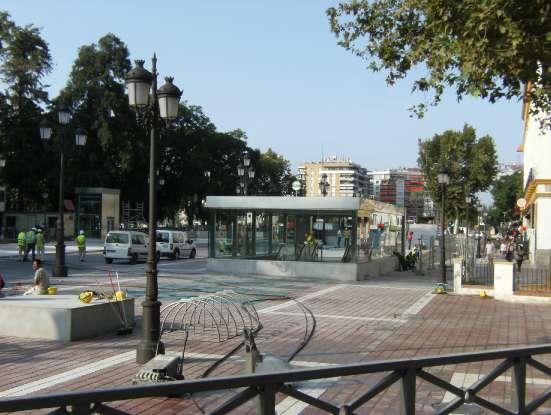 Estacion de metro de Puerta Jerez