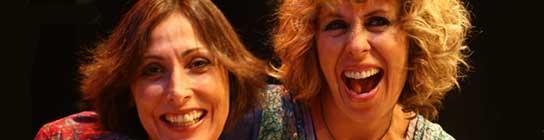 María Barranco y Miriam Díaz Aroca.