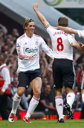 Fernando Torres y Gerrard