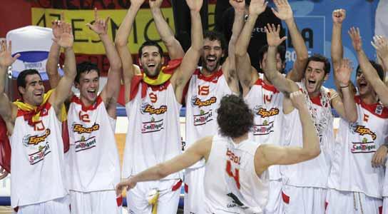 España campeona de Europa 1002512