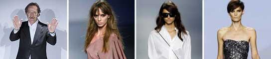 Roberto Torretta y sus modelos