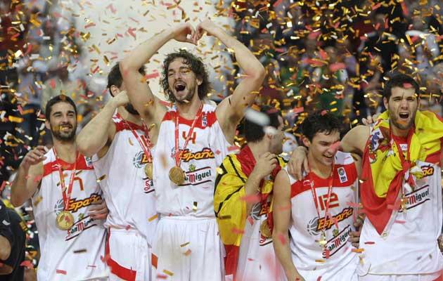La seleccion española de baloncesto