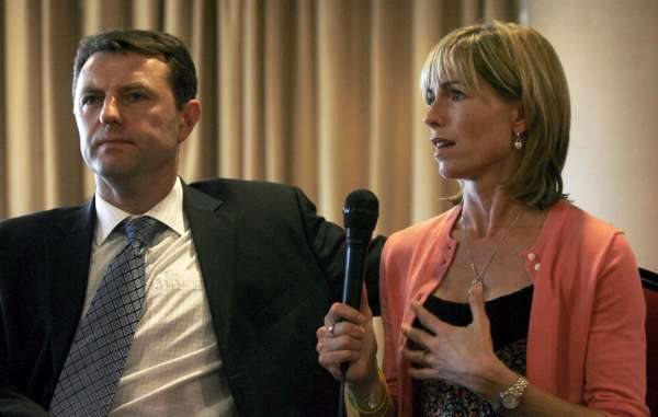 Gerry y Kate McCann