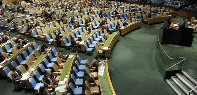 Ahmadineyad, ante la ONU