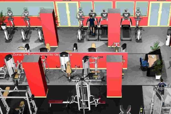 Los polideportivos p blicos estrenan en octubre gimnasios for Gimnasio 8 de octubre